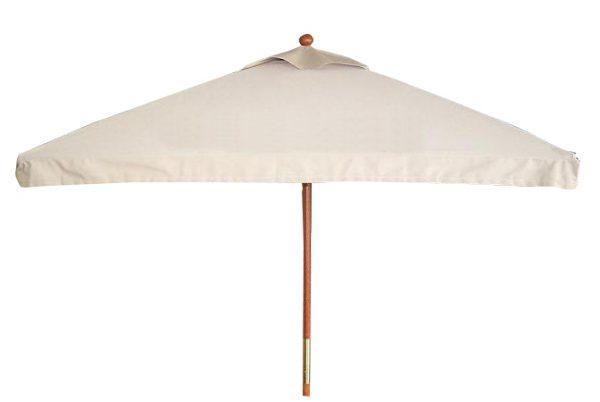 UMOL6SQ - Olivia - 6' x 6' Market Umbrella, Wood Frame, Manual, Vent-0