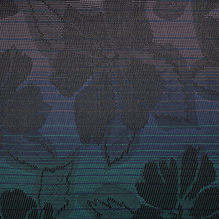 1433 Wild Orchard Black Fabric (Grade B)-0