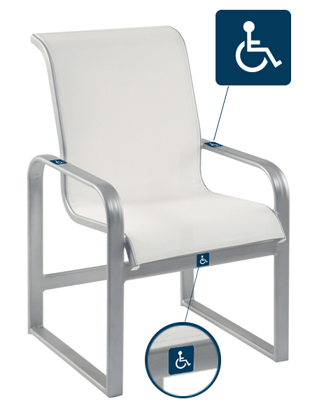 10AXSL Adagio Dining Chair -688