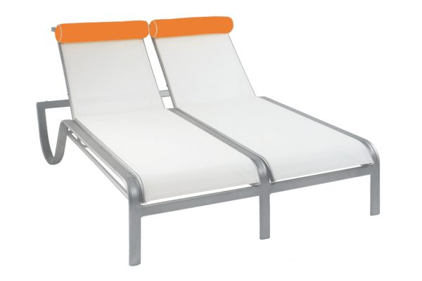 4HXSL - Vegas Stacking Double Sun Chaise Lounge-0