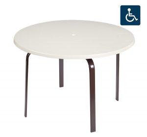 """10TXQF 48"""" Adagio Dining Table-689"""