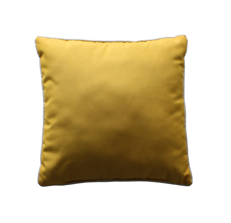 """16"""" Square Throw Pillow w/ Cord Welt-0"""