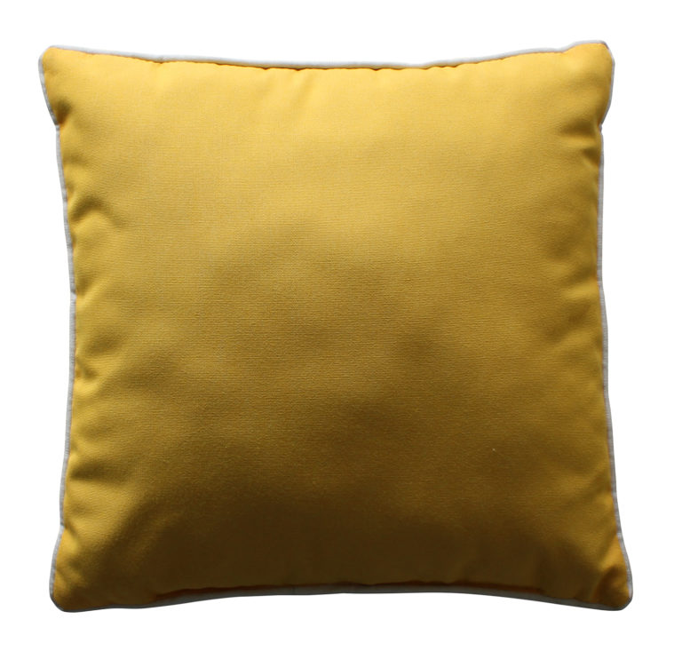 """20"""" Square Throw Pillow w/ Cord Welt-0"""