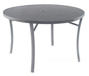 "3TXQAL - Regatta 48"" Dining Table Aluminum Top-0"