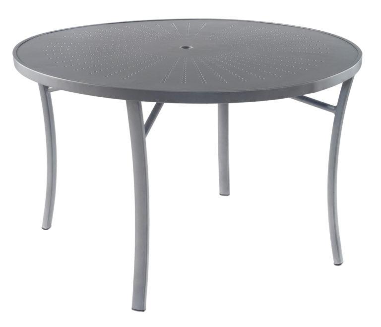 "3TXQAL - Regatta 48"" Dining Table Aluminum Top-0"