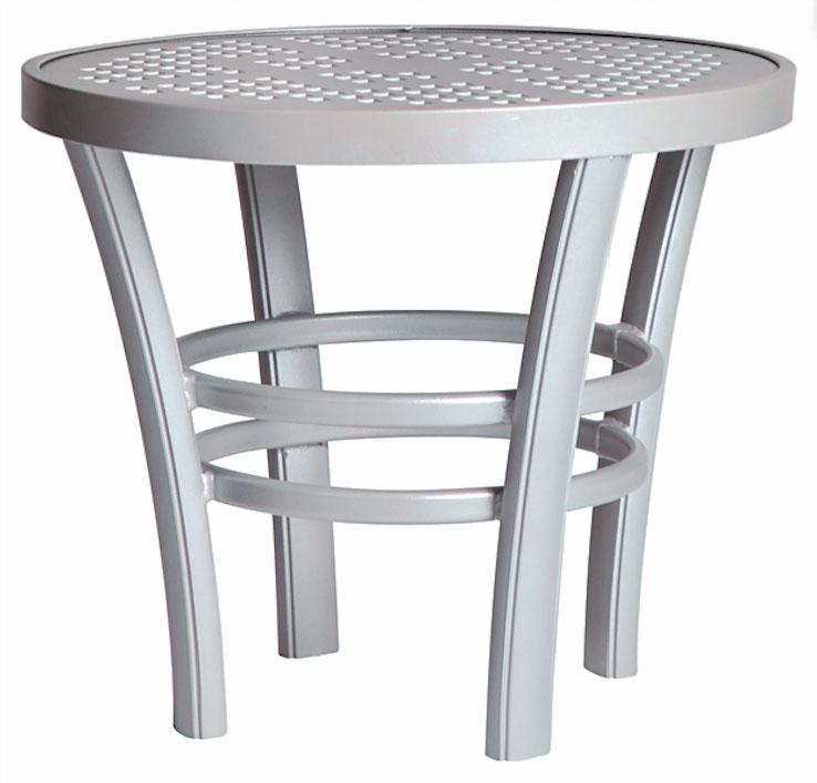 3TXBAL - Regatta End Table Aluminum Top-0