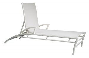 3DXSL-Regatta Stacking Chaise Lounge W/Arms-0