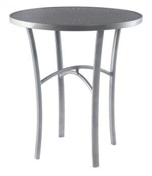 """3TXJAL - Regatta 42"""" Bar Dining Table Aluminum Top-0"""
