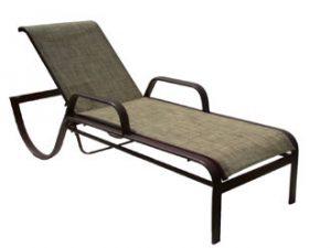 4DXSL - Vegas Sun Chaise Lounge w/arms-0