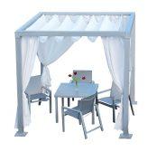 11CAB - Soho Cabana With Decorative Curtains-0