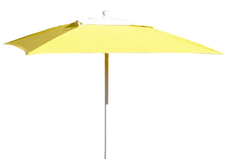 FL-11SQ - Square Umbrella, Manual, Vent, Awning Cover-0