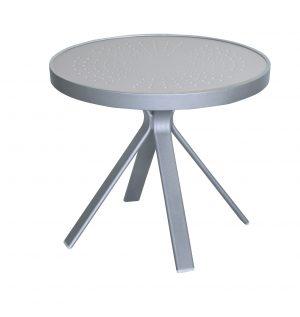 "5320AL - 20"" Round Side Table Aluminum Top-0"