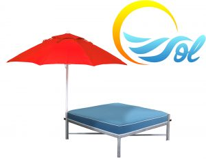 DB-SQCU - Sol Daybed Square with Cushion-0